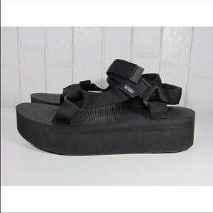 Teva Universal Flatform Sandals Platform Shoes NEW